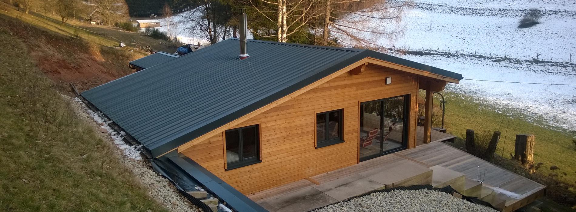 Maison En Bois Moselle charpente sutter : maison-bois - 5 rue des fontaines 57405